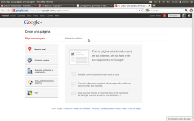 google plus concentrado en redes corporativas