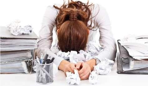 """Superiores """"exigentes"""" y """"autoritarios"""" son los factores principales del estrés fuera de la oficina. Foto:trabajemos.cl"""