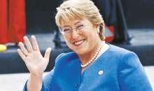 Michelle Bachelet, Presidenta de Chile es una de las figuras más influyentes según la Revista Time. Foto:movilh.cl