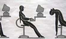 No tener una buena postura puede resultar malo para el cuerpo y hablaría mucho de ti. Foto:rinconmujer.com