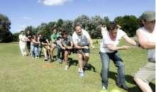 Ser creativos y cumplir con los objetivos a la hora de organizar un evento para los empleados es todo un desafío. Foto:zinceeventos.com.ar