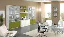 El verde trae paz, seguridad y esperanza. Todos valores que representan a su empresa. Utilice los colores para mejorar su imagen.  Foto:decoraciondeoficina.com