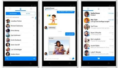 La red social continúa actualizando su mensajero con la intención de hacerlo más atractivo para desarrolladores y anunciantes. También permite realizar videollamadas o llamadas de voz.Foto:elandroidelibre.com