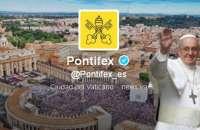 El papa Francisco es el usuario más influyente en Twitter. Foto:diarioveloz.com