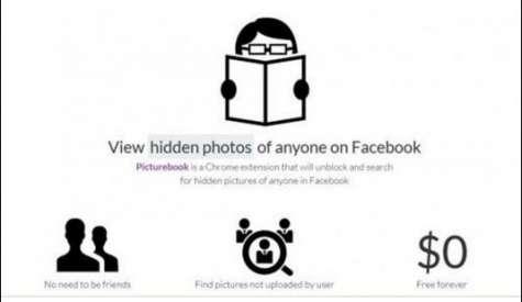 La app Picturebook asegura poder encontrar todas las fotos escondidas sin importar que uno sea amigo o no en la red social. Foto:noticiasdot.com